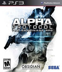 PS3 - Alpha Protocol- By Sega of America