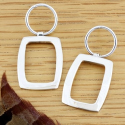 Sterling Silver Geometric Earrings (Mexico)