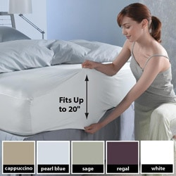 Sealy Super Fit 300 Thread Count Deep Pocket Sheet Set