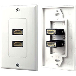 PylePro PHDMF2 HDMI Two-jacks Wall Plate