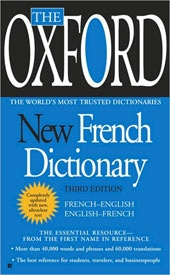The Oxford New French Dictionary (Paperback)