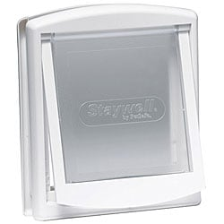 Staywell Small White Hard Flap Pet Door