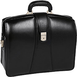 Harrison Leather Laptop Briefcase