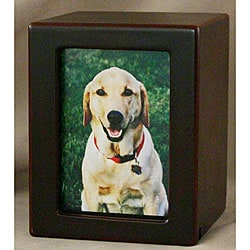 Cherry Large Photo Pet Urn - For pets up to 85 lbs