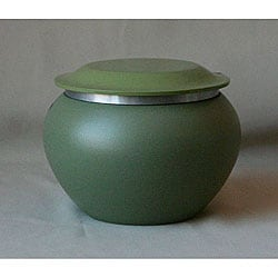 Eastern Pagoda Large Green Pet Urn (Up to 70 Pounds)