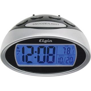 Elgin 3408E LCD Alarm Clock