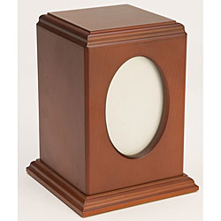 Tribute Cherry Wood Pet Urn (Up to 60 Pounds)