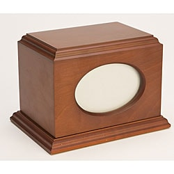 Citation Cherry Wood Pet Urn (Up to 60 Pounds)