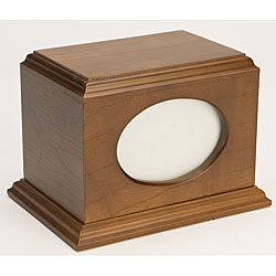 Citation Walnut Wood Pet Urn (Up to 60 Pounds)