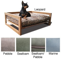 Eco Friendly Bamboo & Memory Foam Pet Bed by Pet Lounge Studios