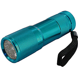 O.F. Bonzer Polished Dark Turquoise Flashlight