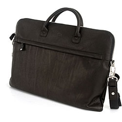 Tony Perotti Lucca Slim Leather Briefcase