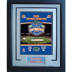 Florida Gators 11x14 2008 Champions Sports Plaque