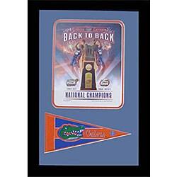 Florida Gators 2006-07 National Basketball Championship Plaque