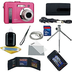 Polaroid i733 Pink 7MP Digital Camera Kit (refurbished)
