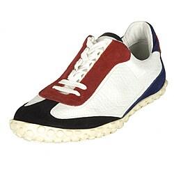 Balenciaga Men's Multicolor Leather Sneakers