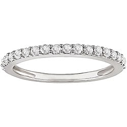 14k White Gold 1/4ct TDW Diamond Ring (IJ, I2)