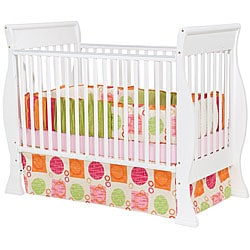 Hampton 3-in-1 White Convertible Crib