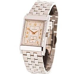 Eterna Men's Stainless Steel Diamond Watch Model # 8190 49 10 0172