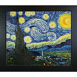 Vincent van Gogh 'Starry Night' Framed Art