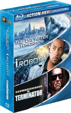 Action Hero Collection (The Day After Tomorrow / I, Robot / The Terminator) (Blu-ray)