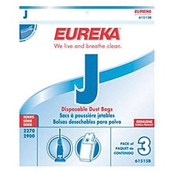 Eureka Replacement Vacuum Bags (Pack of 3)