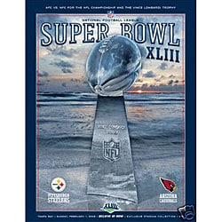 NFL Super Bowl XLIII Special Edition Hologram Program