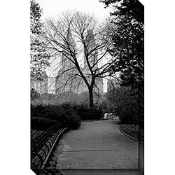 Michael Joseph 'Central Park' Canvas Art