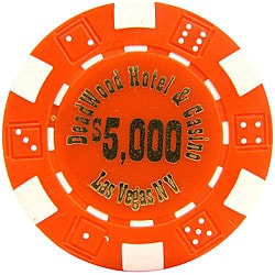 Deadwood Casino High-dollar Poker Chips (Set of 1,000 Chips)