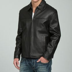 COLLEZIONE Men's Lambskin Leather Jacket