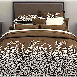 Branches Chocolate Duvet Cover Set