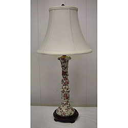 Azalea Candlestick Table Lamp