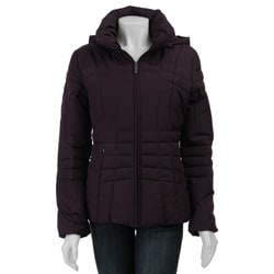Calvin Klein Women's Short Hooded Down Jacket