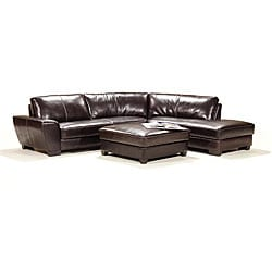 Le Saunier-inspired 3-piece Sectional Sofa Set with Ottoman