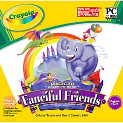 Crayola Fanciful Friends Children's Software