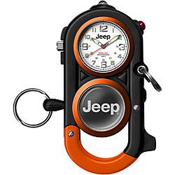 Overstock - Jeep Mens Retrac Cuff Clip Orange/ Black Watch - $16.65