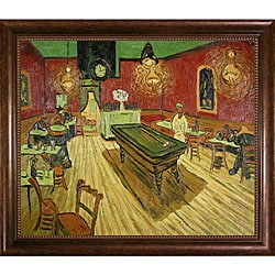 Van Gogh 'The Night Cafe' Oil Canvas Art