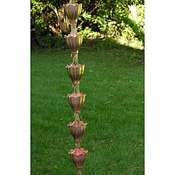 Fluted Cup Rain Chain