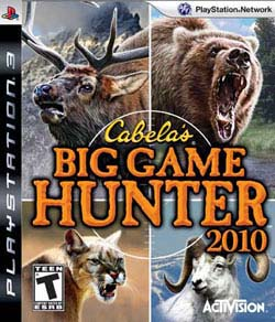 PS3 - Cabelas Big Game Hunter 2010
