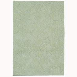 Martha Stewart Navigation Ocean Vista Cotton Rug (5'6 x 8'6)