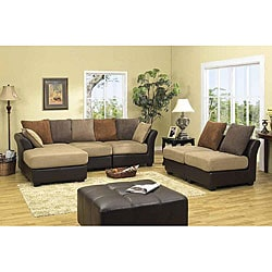 Marino Poli 4-piece Loveseat/ Chair/ Chaise Set