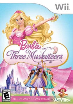 Wii - Barbie and the Three Musketeers