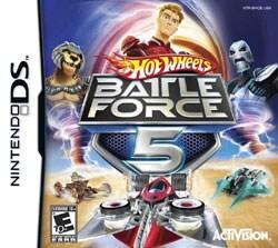 NinDS - Hot Wheels: Battle Force 5
