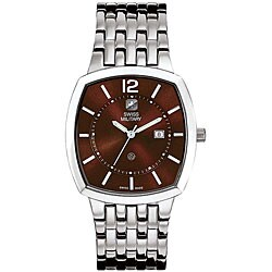 Swiss Military Men's Brown Rendezvous Watch