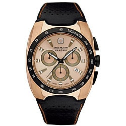 Swiss Military Men's Rose Goldtone Challenger Chronograph Watch