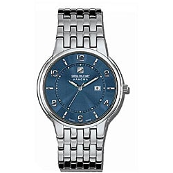 Swiss Military Men's Blue Rendezvous Stainless Steel Watch