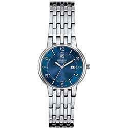Swiss Military Rendezvous Women's Stainless Steel Blue Dial Watch