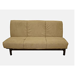 Overstock - Armless Mocha Futon/ Sofa Bed - $329.99
