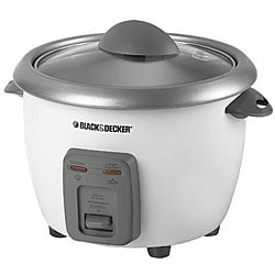 Black & Decker RC3406 6-cup Rice Cooker