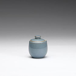 Denby Azure Covered Sugar Bowl